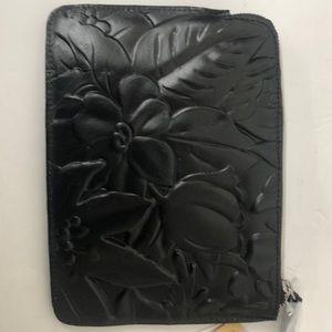 Patricia Nash Tooled Leather Cassini Black